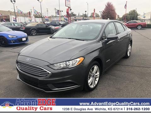 Used Ford Fusion Hybrid >> 2018 Ford Fusion Hybrid For Sale In Wichita Ks
