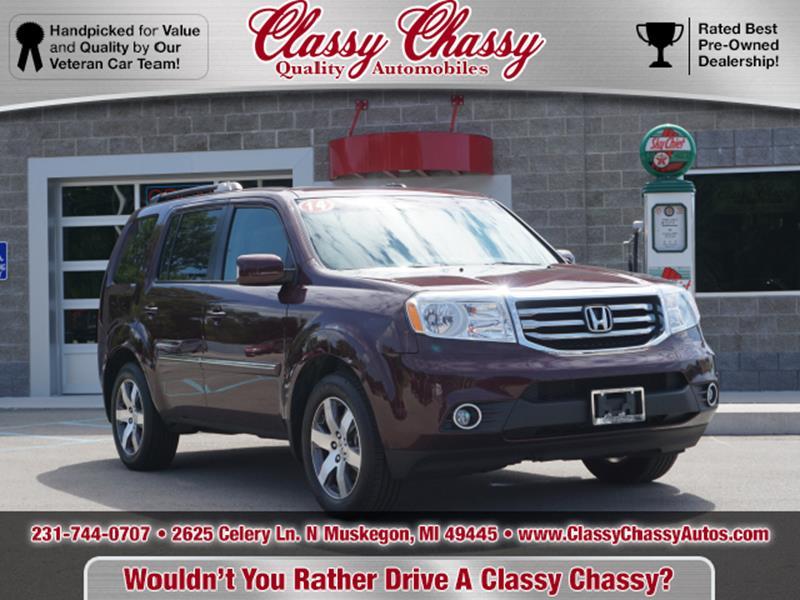 2014 Honda Pilot For Sale At Classy Chassy In Muskegon MI