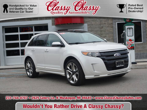 2014 Ford Edge for sale at Classy Chassy in Muskegon MI