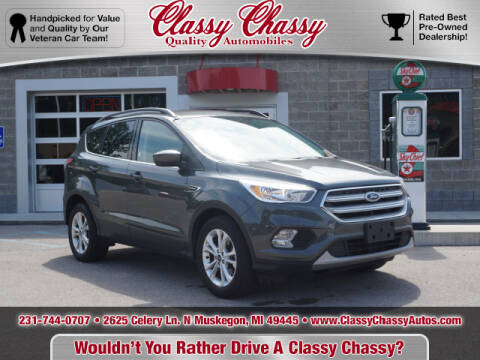 2018 Ford Escape for sale at Classy Chassy in Muskegon MI