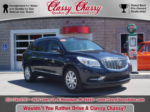 2015 Buick Enclave for sale at Classy Chassy in Muskegon MI