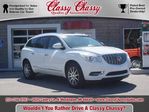 2016 Buick Enclave for sale at Classy Chassy in Muskegon MI