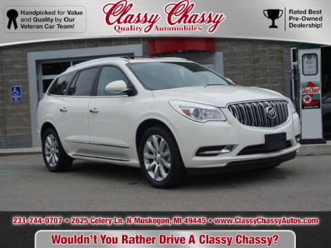 2013 Buick Enclave for sale at Classy Chassy in Muskegon MI
