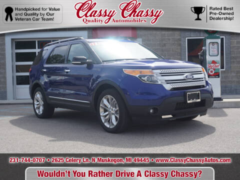 2013 Ford Explorer for sale at Classy Chassy in Muskegon MI