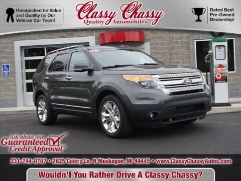 2015 Ford Explorer for sale at Classy Chassy in Muskegon MI