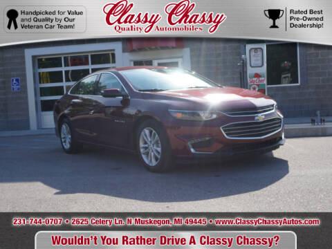 2016 Chevrolet Malibu for sale at Classy Chassy in Muskegon MI