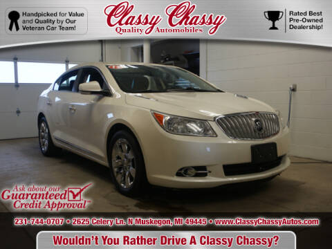 2012 Buick LaCrosse for sale at Classy Chassy in Muskegon MI