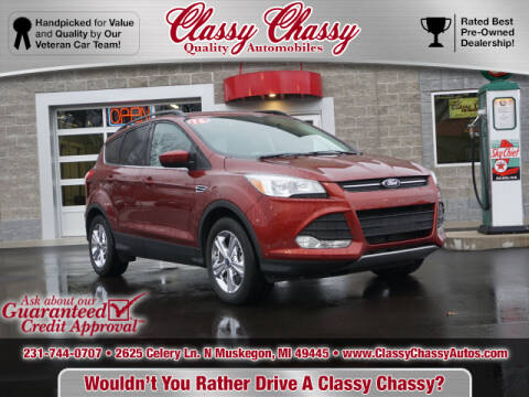 2016 Ford Escape for sale at Classy Chassy in Muskegon MI