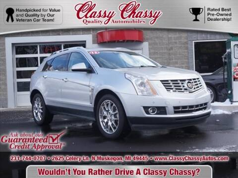 2013 Cadillac SRX for sale at Classy Chassy in Muskegon MI