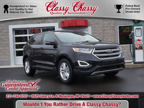 2016 Ford Edge for sale at Classy Chassy in Muskegon MI