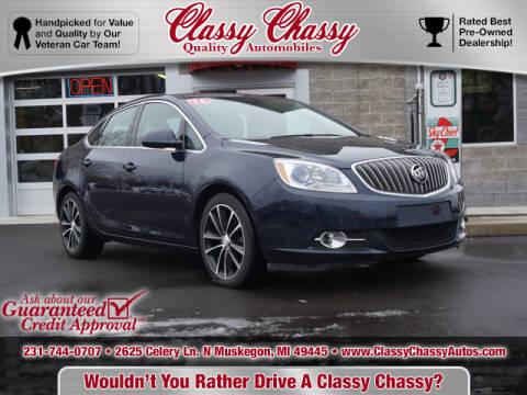 2016 Buick Verano for sale at Classy Chassy in Muskegon MI