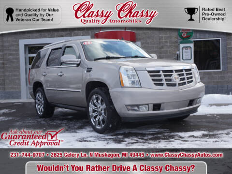 2008 Cadillac Escalade for sale at Classy Chassy in Muskegon MI