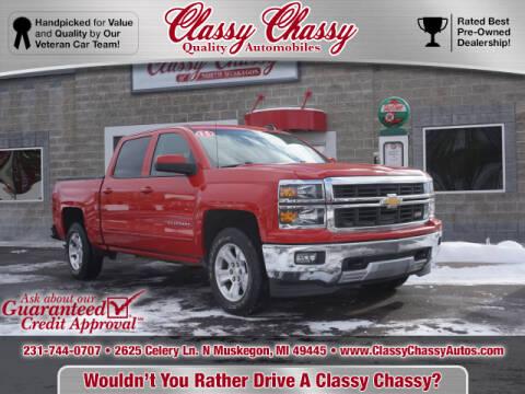 2015 Chevrolet Silverado 1500 for sale at Classy Chassy in Muskegon MI