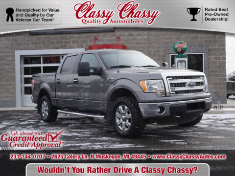 2013 Ford F-150 for sale at Classy Chassy in Muskegon MI