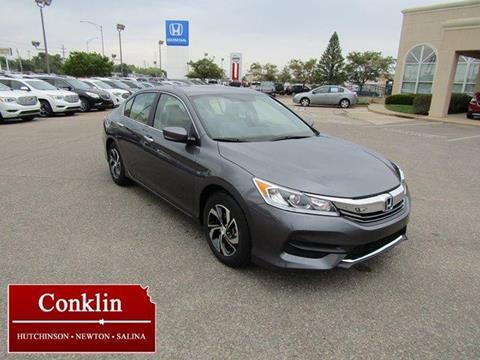 2017 Honda Accord for sale in Hutchinson, KS