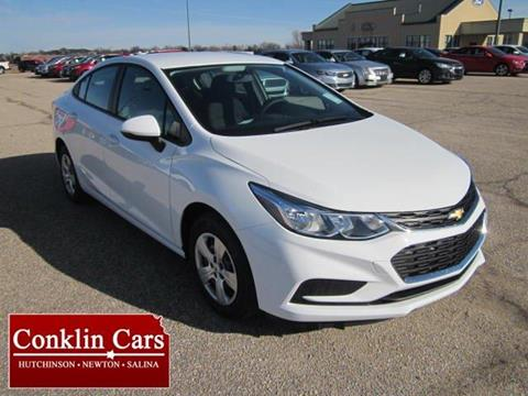 2017 Chevrolet Cruze for sale in Newton KS