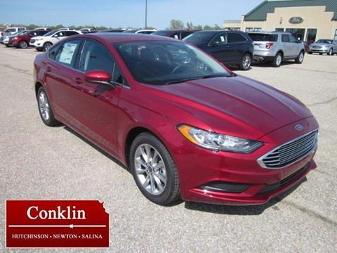 2017 Ford Fusion for sale in Newton, KS