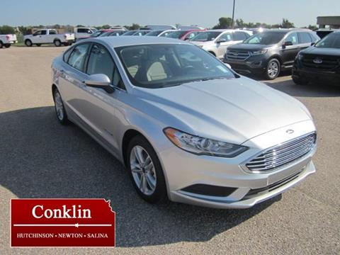 2018 Ford Fusion Hybrid for sale in Newton KS