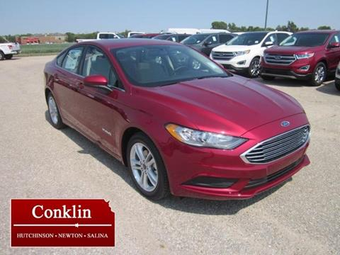 2018 Ford Fusion Hybrid for sale in Newton, KS