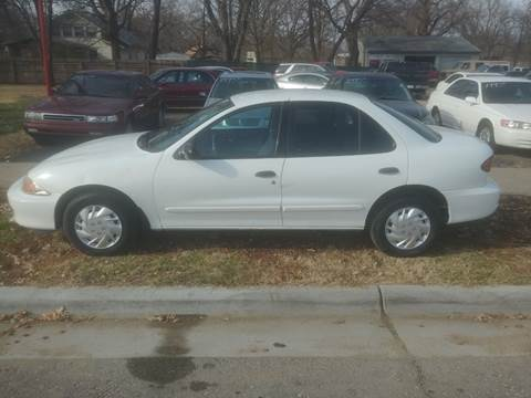 2002 Chevrolet Cavalier for sale at D & D Auto Sales in Topeka KS