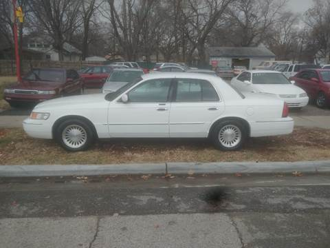 1998 Mercury Grand Marquis for sale at D & D Auto Sales in Topeka KS