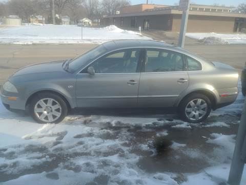 2002 Volkswagen Passat for sale at D & D Auto Sales in Topeka KS