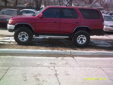 1998 Toyota 4Runner for sale at D & D Auto Sales in Topeka KS