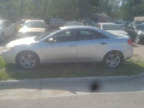 2009 Pontiac G6 for sale at D & D Auto Sales in Topeka KS
