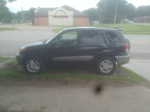 2001 Toyota RAV4 for sale at D & D Auto Sales in Topeka KS