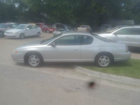 2005 Chevrolet Monte Carlo for sale at D & D Auto Sales in Topeka KS
