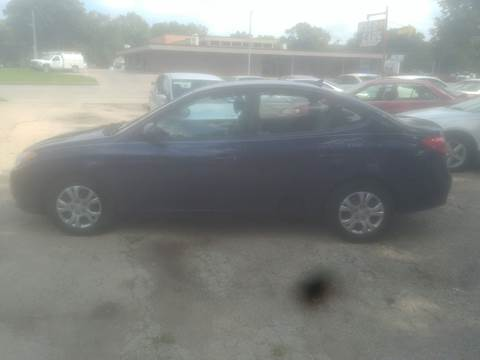 2010 Hyundai Elantra for sale at D & D Auto Sales in Topeka KS