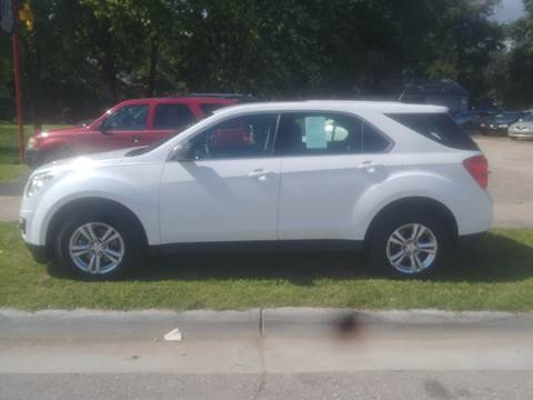 2012 Chevrolet Equinox for sale at D & D Auto Sales in Topeka KS