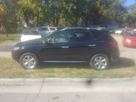 2009 Nissan Murano for sale at D & D Auto Sales in Topeka KS