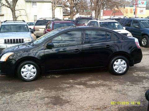 2008 Nissan Sentra for sale at D & D Auto Sales in Topeka KS