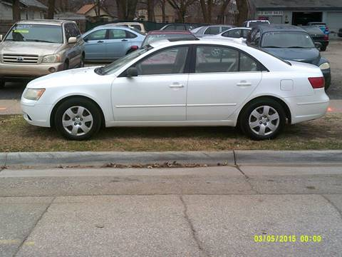2009 Hyundai Sonata for sale at D & D Auto Sales in Topeka KS