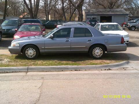 2006 Mercury Grand Marquis for sale at D & D Auto Sales in Topeka KS