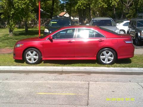 2010 Toyota Camry for sale at D & D Auto Sales in Topeka KS