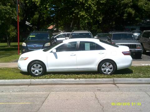 2007 Toyota Camry for sale at D & D Auto Sales in Topeka KS
