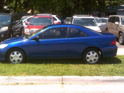 2005 Honda Civic for sale at D & D Auto Sales in Topeka KS