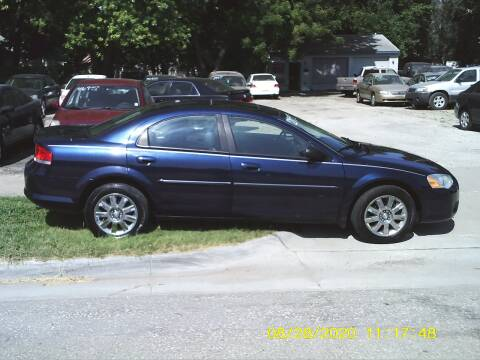 2006 Chrysler Sebring for sale at D & D Auto Sales in Topeka KS