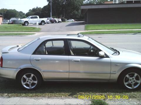 2003 Mazda Protege for sale at D & D Auto Sales in Topeka KS