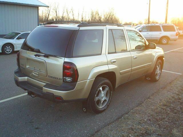 2004 Chevrolet TrailBlazer LT 4WD 4dr SUV - Hutchinson MN