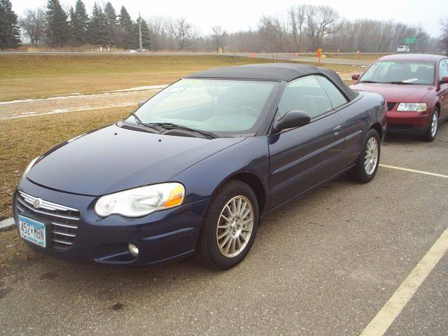 2005 chrysler sebring touring 2dr convertible in hutchinson mn dales auto sales. Black Bedroom Furniture Sets. Home Design Ideas