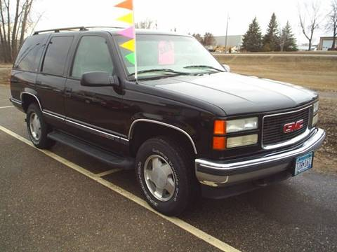 1999 GMC Yukon for sale in Hutchinson, MN