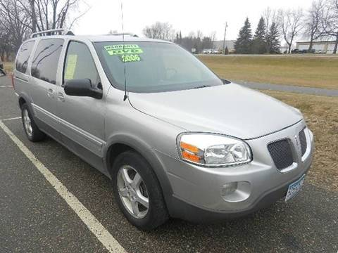 2006 Pontiac Montana SV6 for sale in Hutchinson, MN