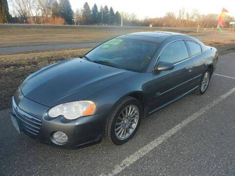 2004 Chrysler Sebring for sale at Dales Auto Sales in Hutchinson MN