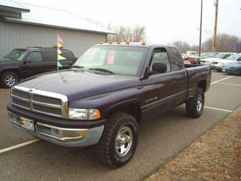 1998 Dodge Ram Pickup 1500 for sale at Dales Auto Sales in Hutchinson MN