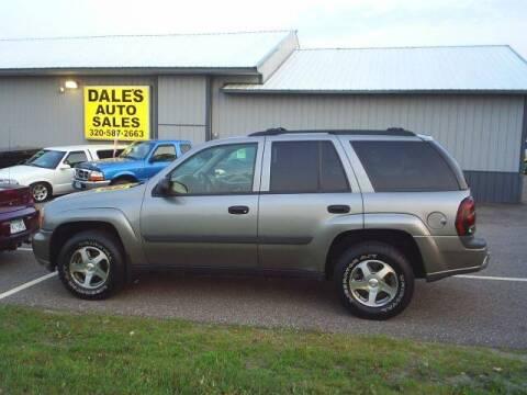 2005 Chevrolet TrailBlazer for sale at Dales Auto Sales in Hutchinson MN