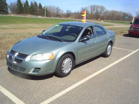 2006 Dodge Stratus for sale at Dales Auto Sales in Hutchinson MN