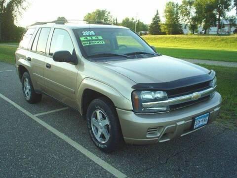 2006 Chevrolet TrailBlazer for sale at Dales Auto Sales in Hutchinson MN